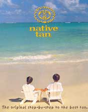 Native Tan Catalog - Sunscreen and Sun tanning lotions