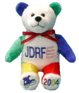 Beary Thoughtful Fundraising Bears - Juvenile Diabetes